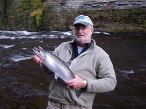 salmon river, oak orchard, niagara river, fishing report