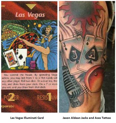tattoo on neck of las vegas shooter illuminati card game predicted las vegas shooting ufo