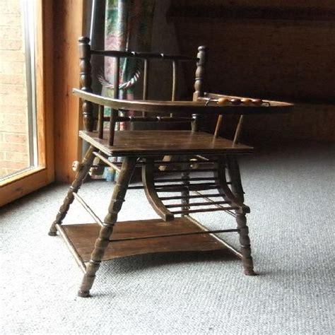 Ancienne Chaise Haute En Bois by Ancienne Chaise Clasf