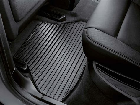 Floor Mats For Bmw by Bmw Genuine All Weather Rubber Rear Floor Mat Set