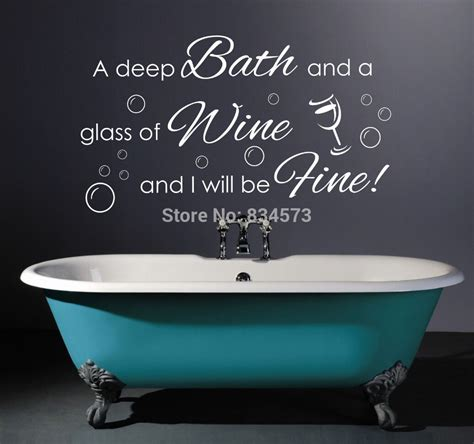 bathroom quotes online online kaufen gro 223 handel wine quotes aus china wine quotes gro 223 h 228 ndler aliexpress com