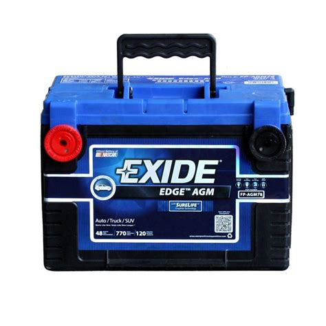 edge 78 auto agm battery fp agm78ds the home depot