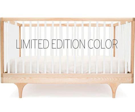 Kalon Crib by Kalon Caravan Crib In Limited Edition White Nursery