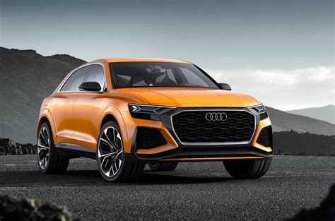 Audi Large Suv by Audi Q8 Sport Concept Previews Range Topping Large Suv