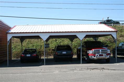 Temporary Car Port by Restaurant Reservation Carports