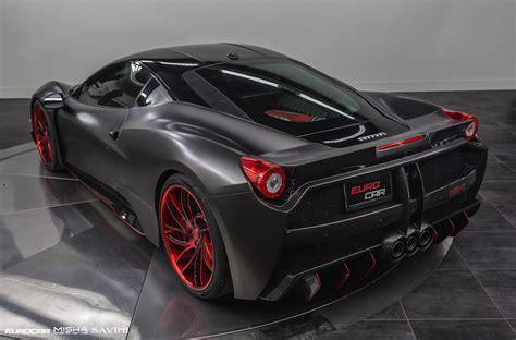 Ferrari 453 Italia by Satin Black Ferrari 458 Italia By Misha Designs Gtspirit