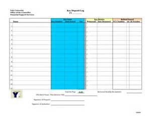 best photos of office key log template key log book