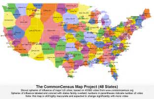 image gallery america map states