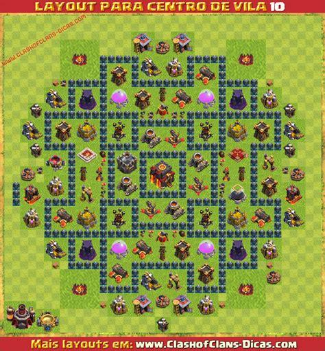 layout quadrado cv 9 layouts para cv10 em clash of clans