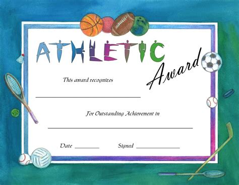 most valuable player award certificate office templates