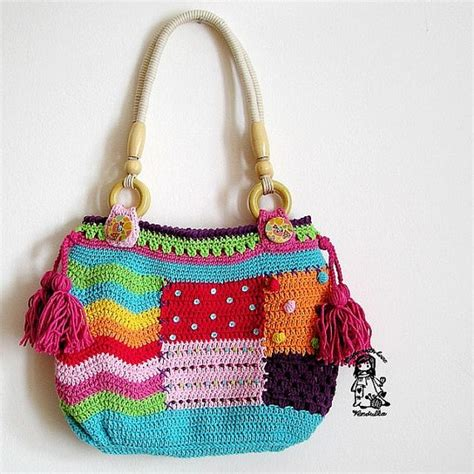 Crocheted Tote From Global by 184 Best Images About Bags On Purse Patterns