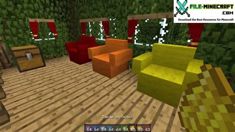 Minecraft The Furniture Mod by Mrcrayfish S Furniture Mod 1 12 1 1 11 2 1 10 2 File