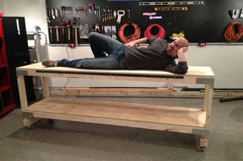 best way to bench how to build a heavy duty workbench one project closer