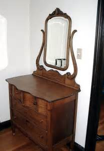 early 1900s antique oak dresser with mirror flickr