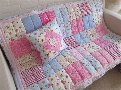 handmade patchwork small single cot bed quilt cot bed