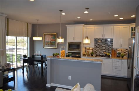 The Kitchen Bench Virginia Garage Town Homes At The Manors At Moorefield Green