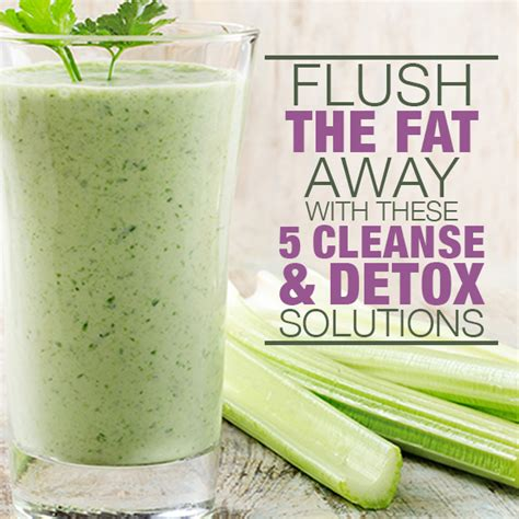 All Detox Solutions by Flush The Away With These 5 Cleanse Detox Solutions