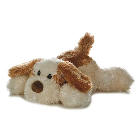 stuffed puppy scruff the brown and stuffed by