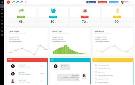 template for admin panel free 20 admin dashboard templates free for your web