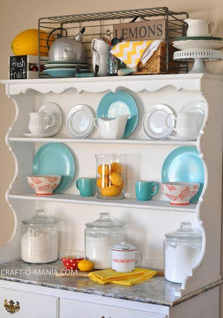 25 best ideas about hutch decorating on hutch