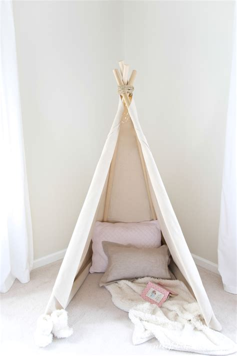 How To Organize Toys In Playroom by How To Make A Teepee Tent An Easy No Sew Project In Less