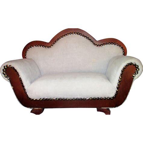 victorian fainting sofa victorian styled sofa fainting couch miniature salesman