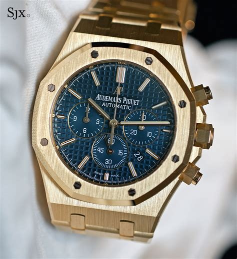 Audemars Piguet Royal Oak Chronograph Steel Gold Ref 1220or 05 on with the audemars piguet royal oak chronograph 41
