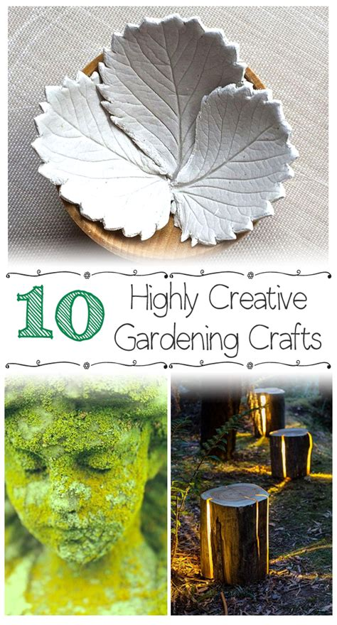 10 highly creative gardening crafts gardening