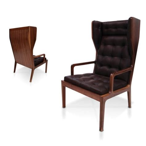 wingback leather armchair james uk black leather wingback armchair from fusion living