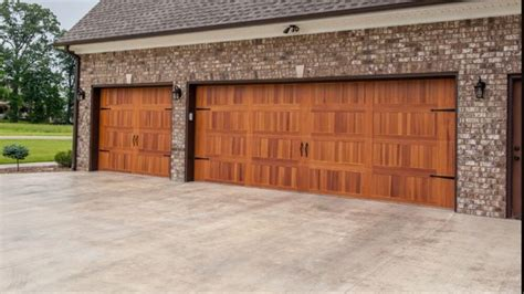 Local Garage Doors Chi Carriage House Sted Steel Garage Door With Cedar Woodgrain Accent Yelp