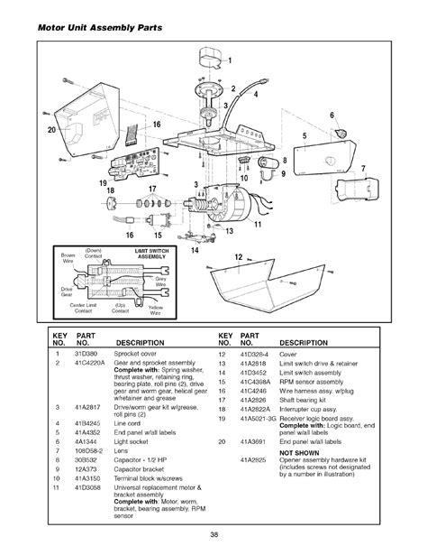 motor unit assembly parts motor unit assembly parts