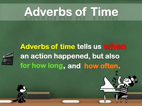 of time focusing adverbs and adverbs of time