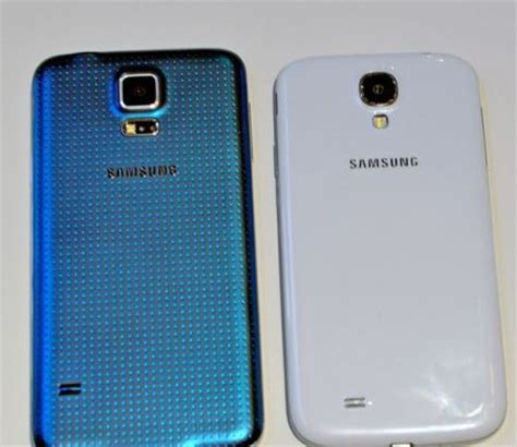 samsung galaxy s5 vs galaxy s4 specifications' list and video