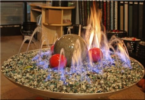 indoor glass pit custom fireplace designs both indoor and outdoor tables