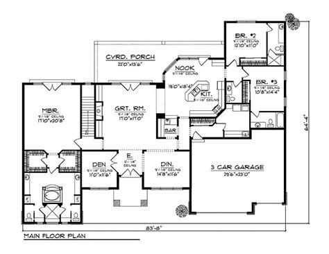 cinder block home plans cement block house plans