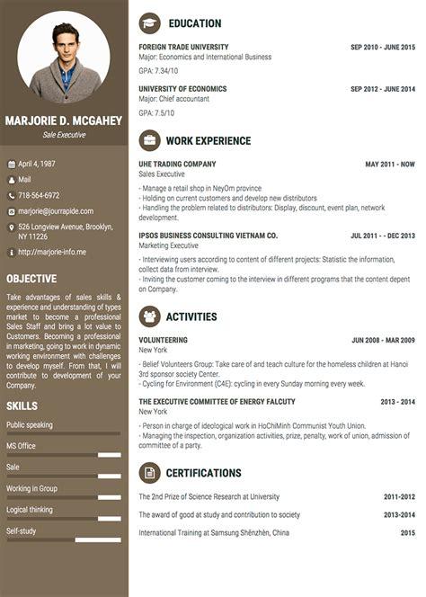 40 professionally designed free resume templates design
