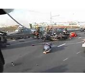 Horrible Motorcycle Accident Caught On Tape  YouTube