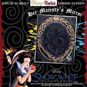paint with a twist columbia tn to celebrate quot snow white and the seven dwarfs quot coming out