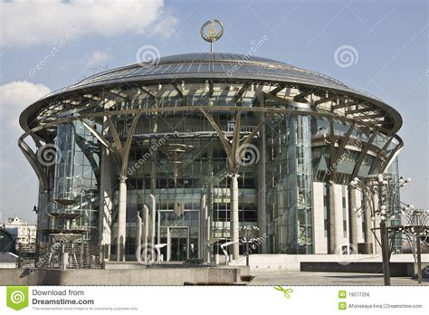 international house of music moscow international house of music royalty free stock image image 19277256