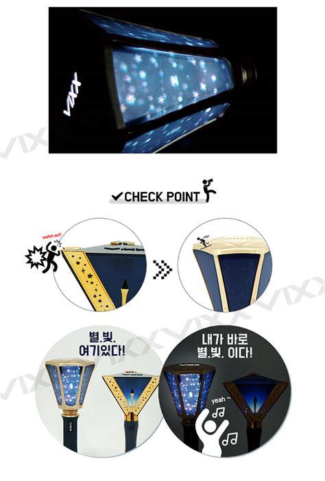 Vixx Acrylic Lightstick Kpop Lightstick Vixx Vixx Lightstick vixx official light stick ver 2