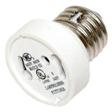 satco 81888 medium e26 to twist and lock gu24