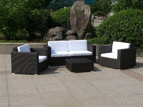 hot selling small group wicker sofa furniture   E005