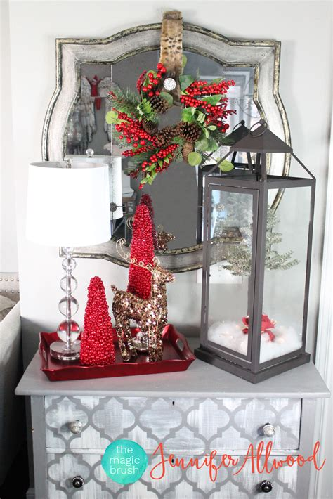christmas decorations red lantern decor by pier 1