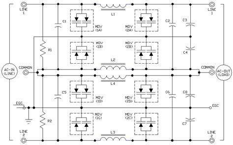 tvss ac filter schematics ecn electrical forums