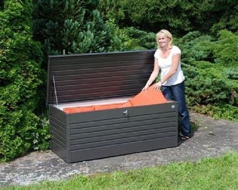 baule giardino baule legno da esterno design casa creativa e mobili