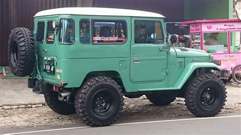 Radio Tuner Hardtop Fj40 Bj40 green hardtop fj40 all cleaned up fj40 lx toyota 75 series ute troop carrier with a ford 5