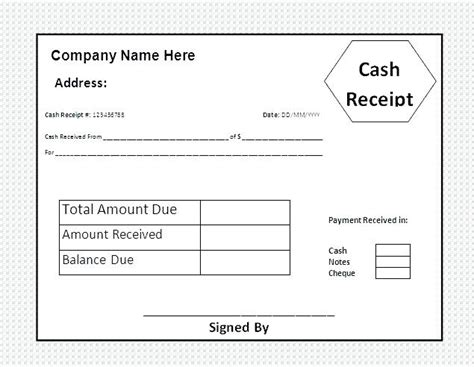 real estate deposit receipt template receipt templates real estate deposit receipt definition