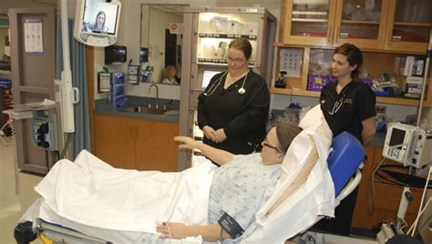 vidant beaufort debuts robot technology for stroke victims