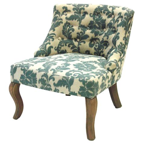 Ikat Chairs by Ikat Fabric Accent Chair With Button Tufts Dcg Stores