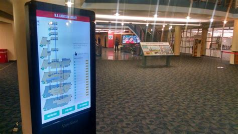 New digital wayfinding signs in MD Anderson Library ? User